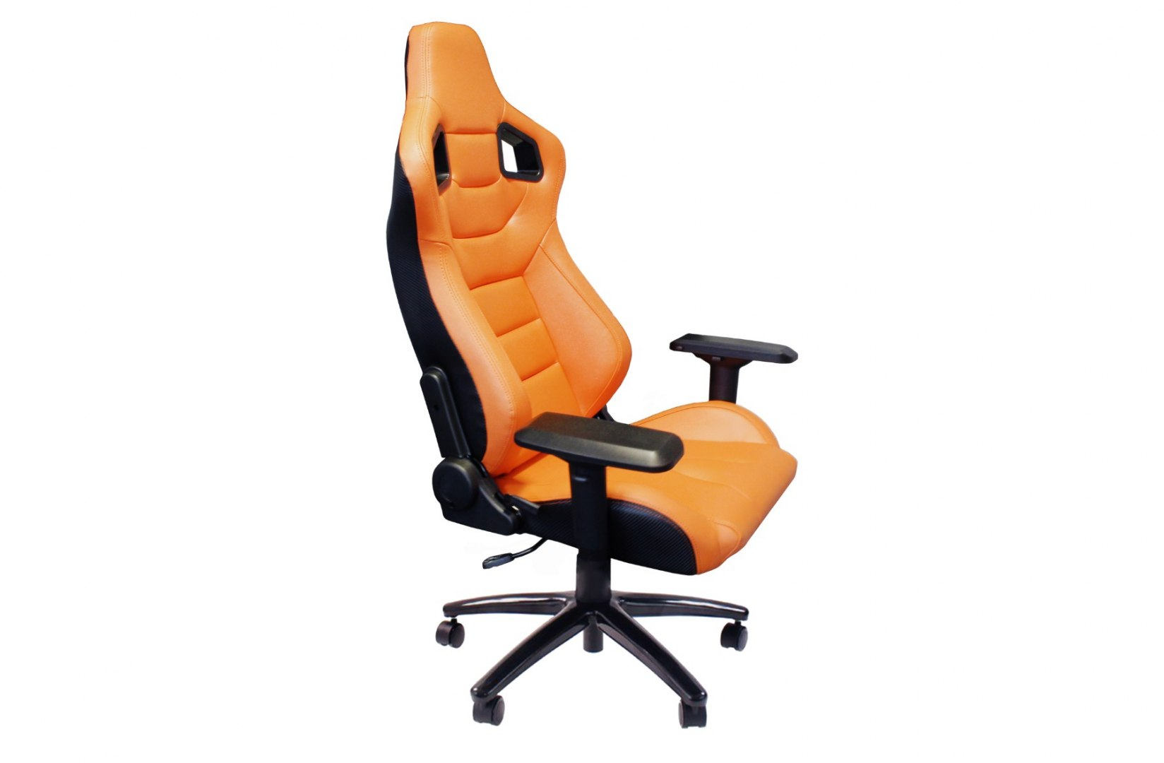Fotel Biurowy Glock Orange - GRUBYGARAGE - Sklep Tuningowy